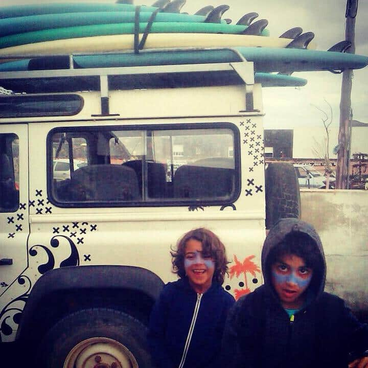 Family stay in surf camp in Fuerteventura, Canary Islands