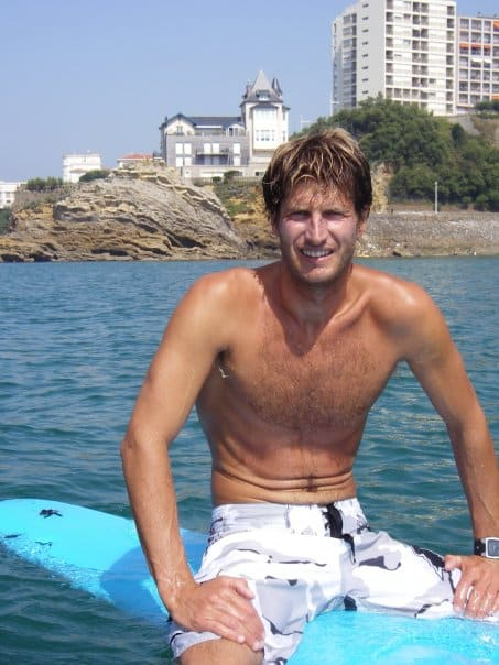 The Surf Instructor and owner of Surf Camp de La Côte des Basques de Biarritz