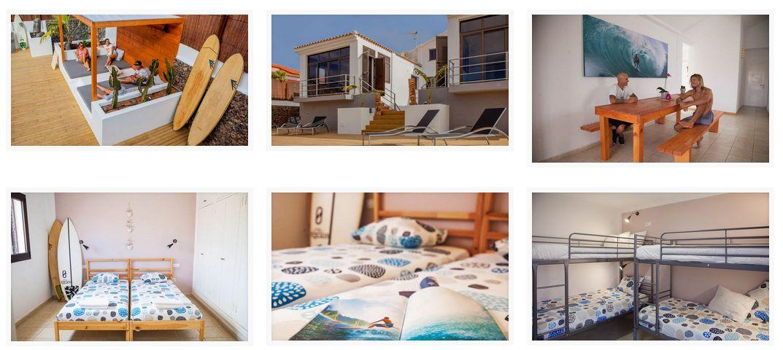 Surf Camp Fuerteventura Corralejo iles Canaries Vue ensemble