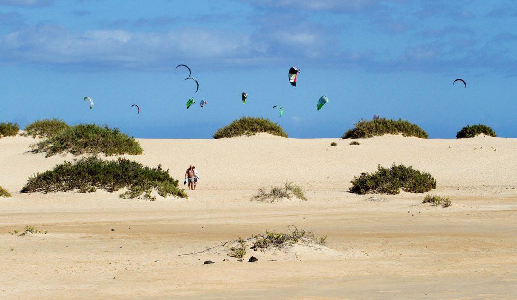 Flag Beach Fuerteventura