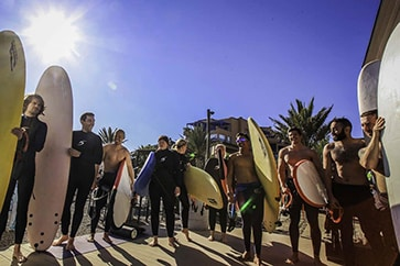 Surf Camp Taghazout Maroc planches