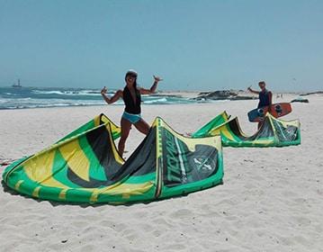 Cours de kitesurf fuerte ventura