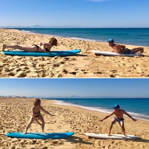 Individual and Group Surfing Lessons Anglet Chambre d'Amour