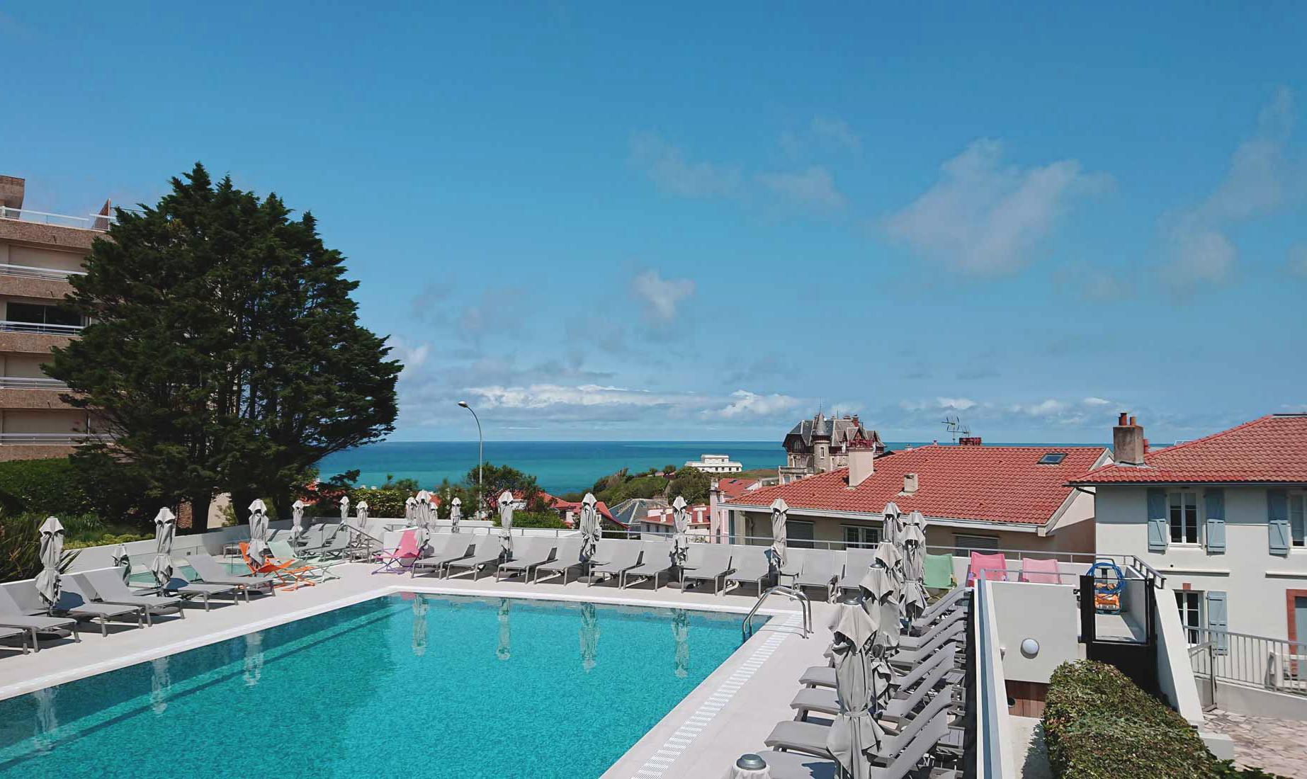 OA biarritz hotel piscine
