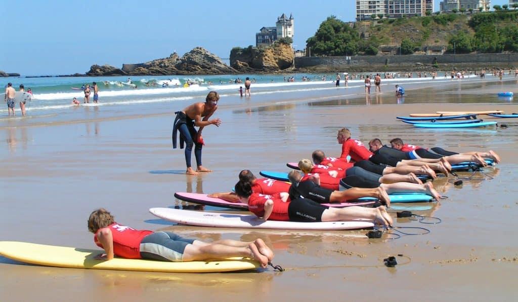 OA surfcamp biarritz cote des basques