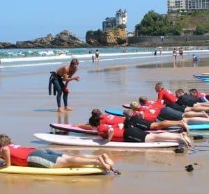 OA surfcamp biarritz stage de surf cote des basques