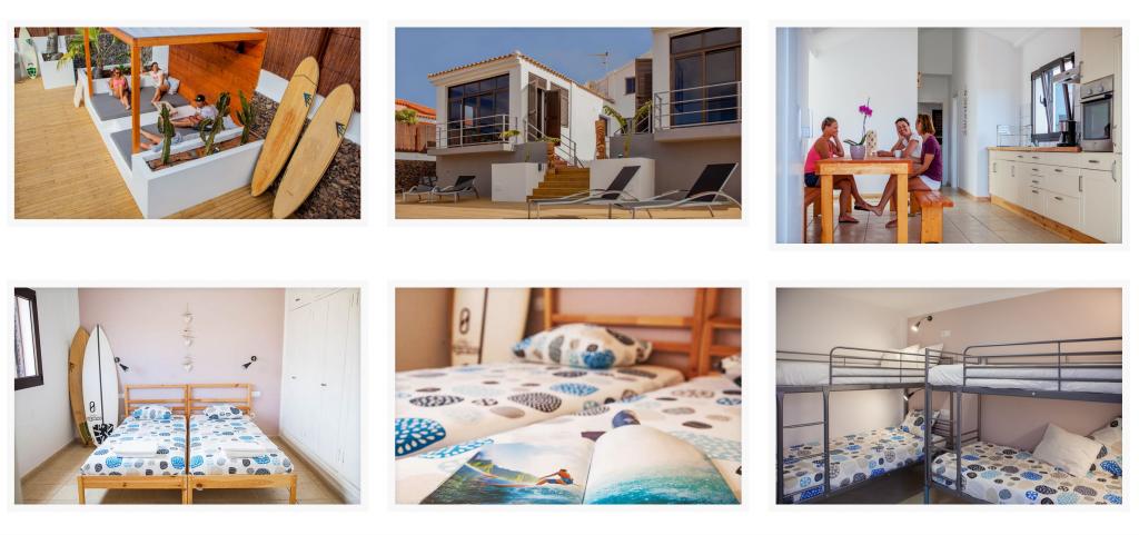 OA surfcamp fuerteventura chambres et dortoirs