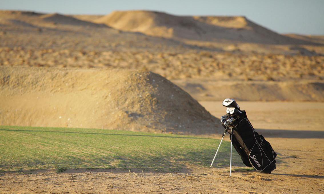 Golf de sable dakhla