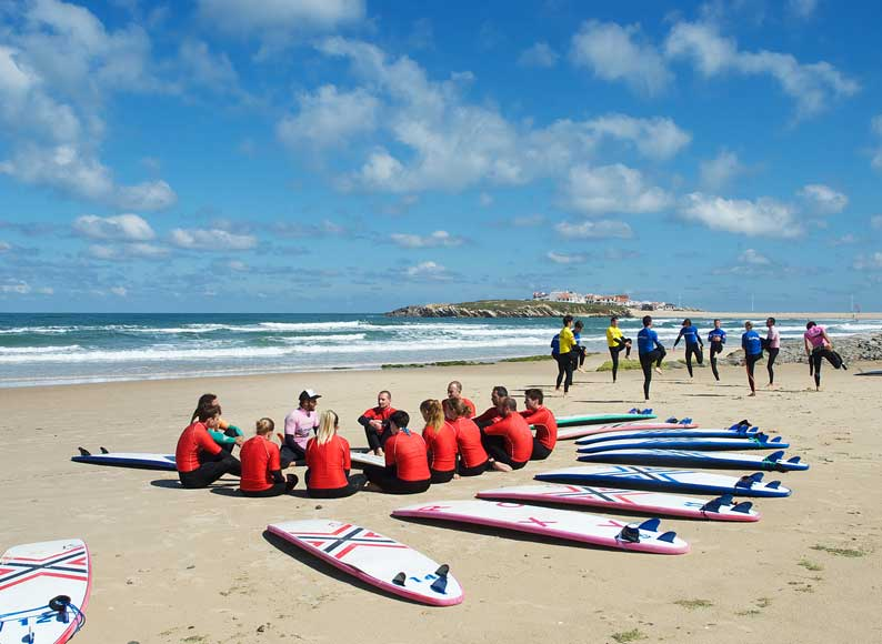surfschool baleal ocean adventure