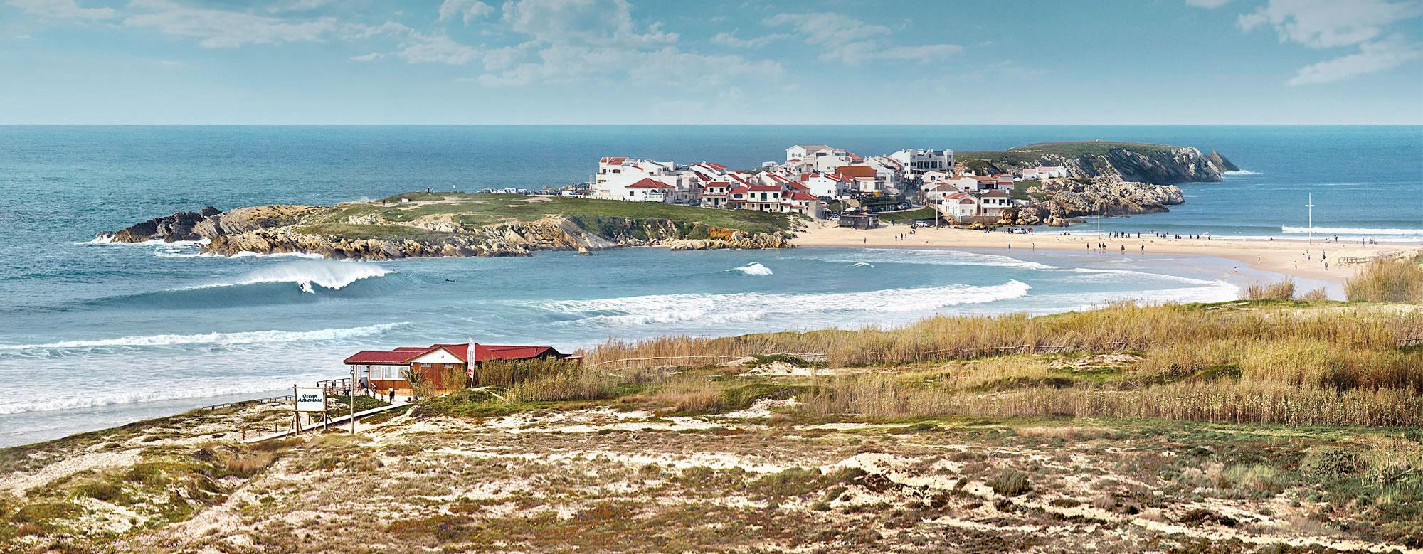 peniche portugal baleal island Ocean adventure surfcamp