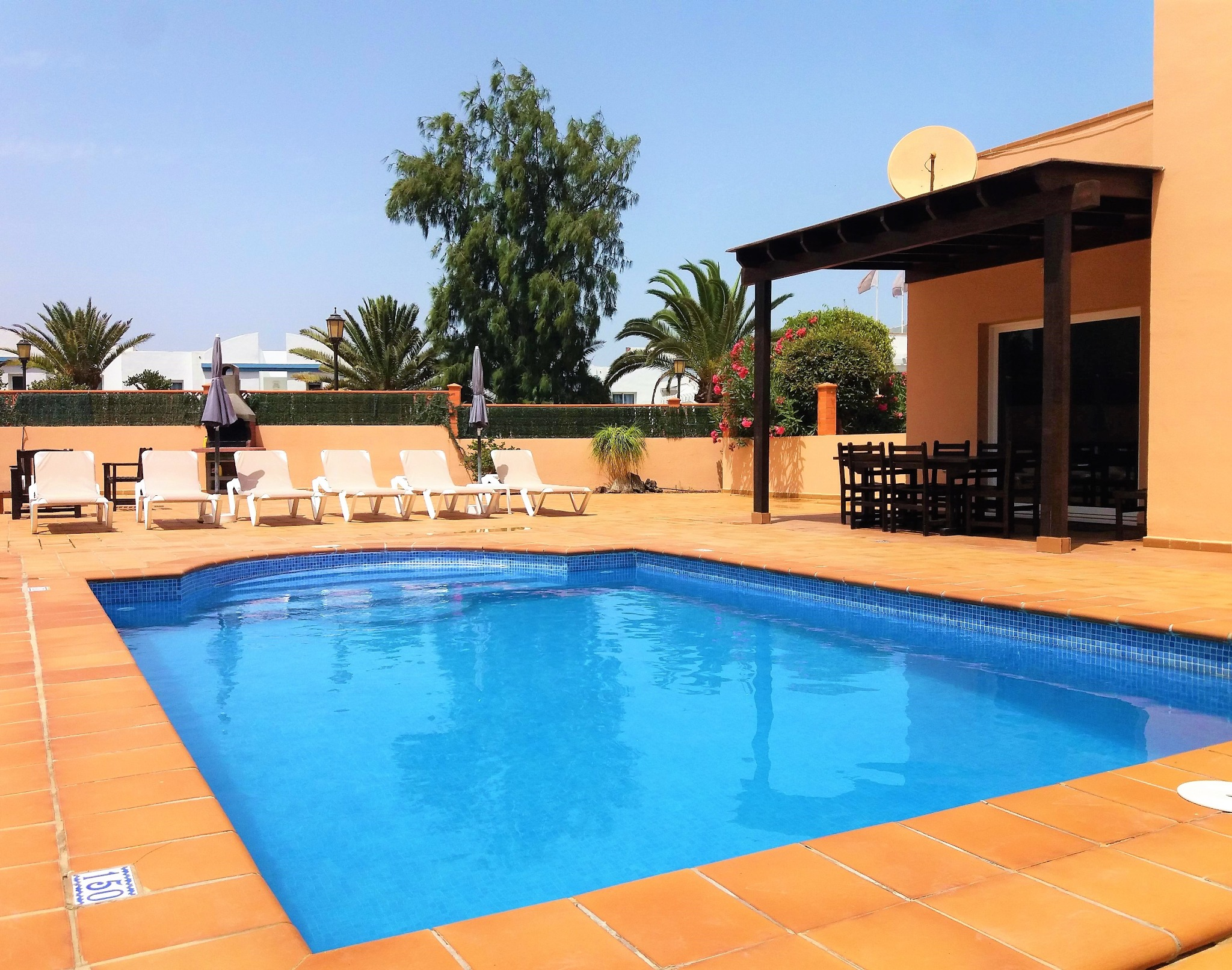 Villa centre ville piscine OA Corralejo