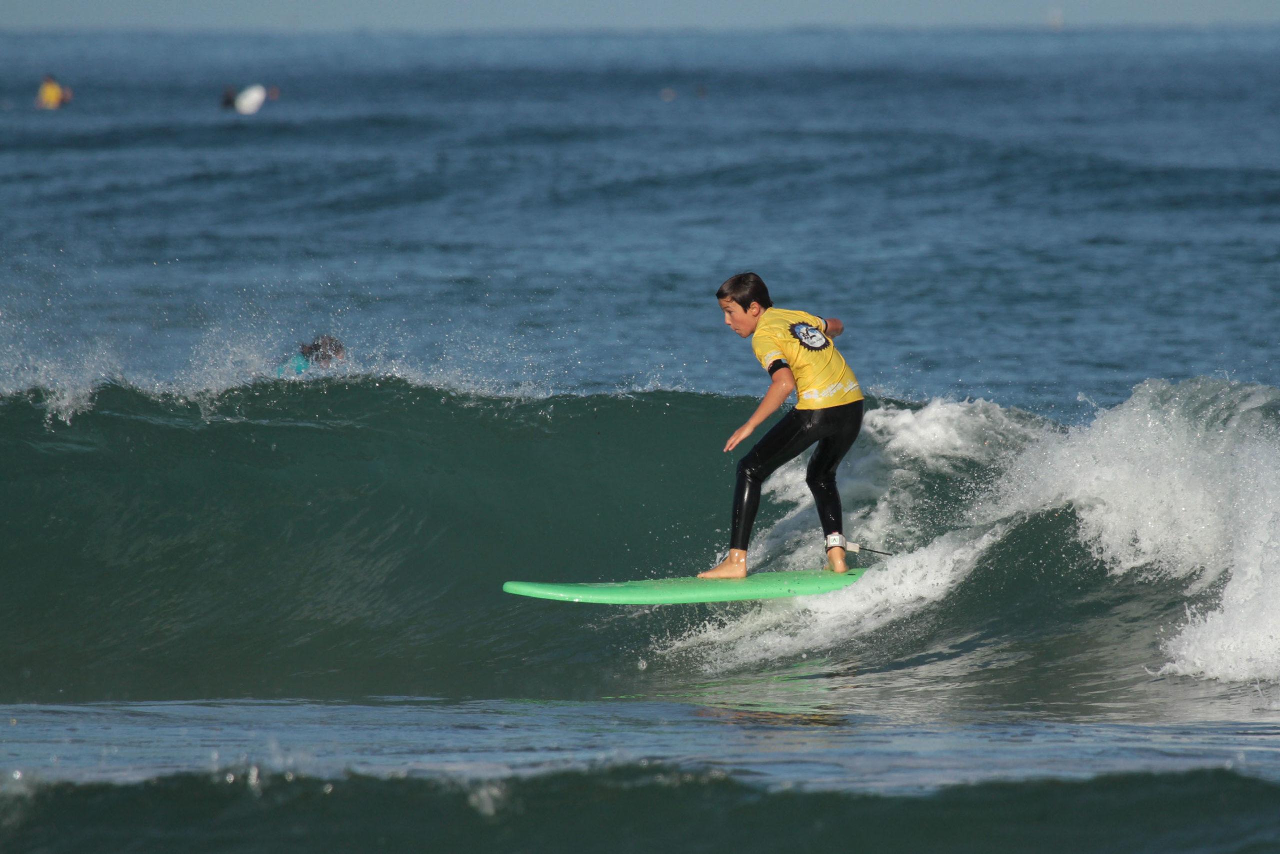 Cours et Stage de Surf Bidart Centre