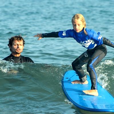 Cours et Stage de Surf Hossegor La Gravière