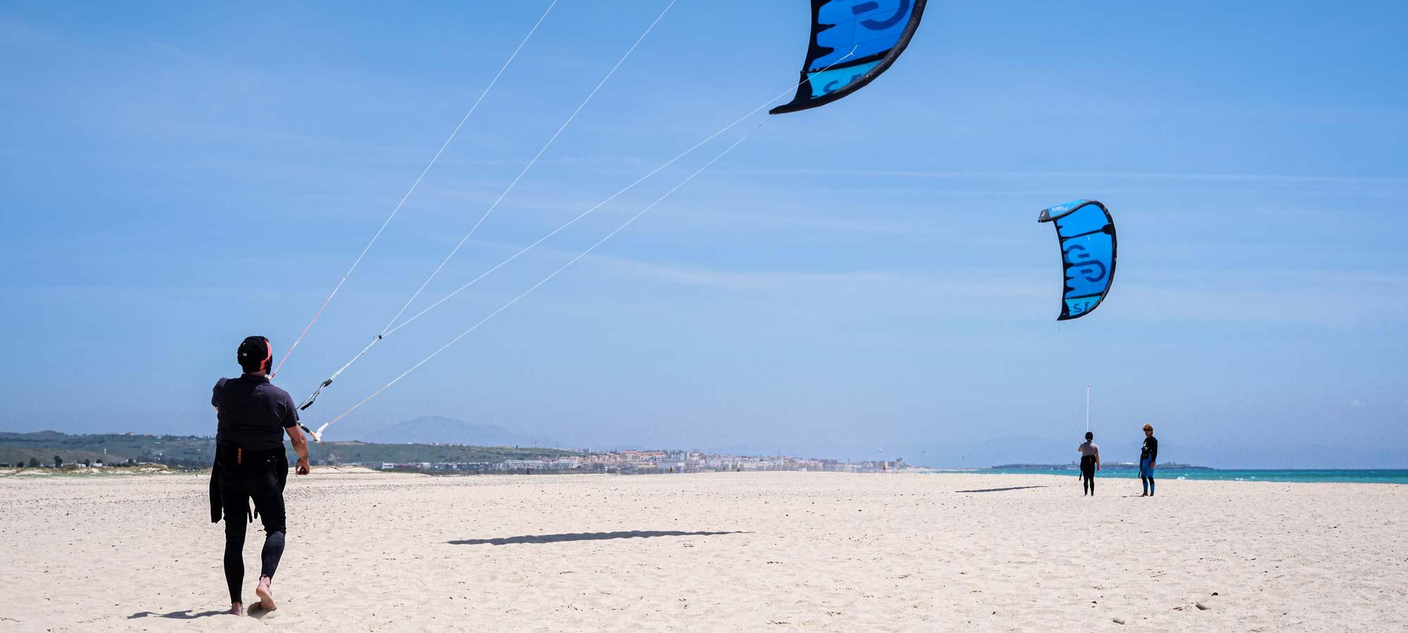 Leçon kitesurf tarifa OA