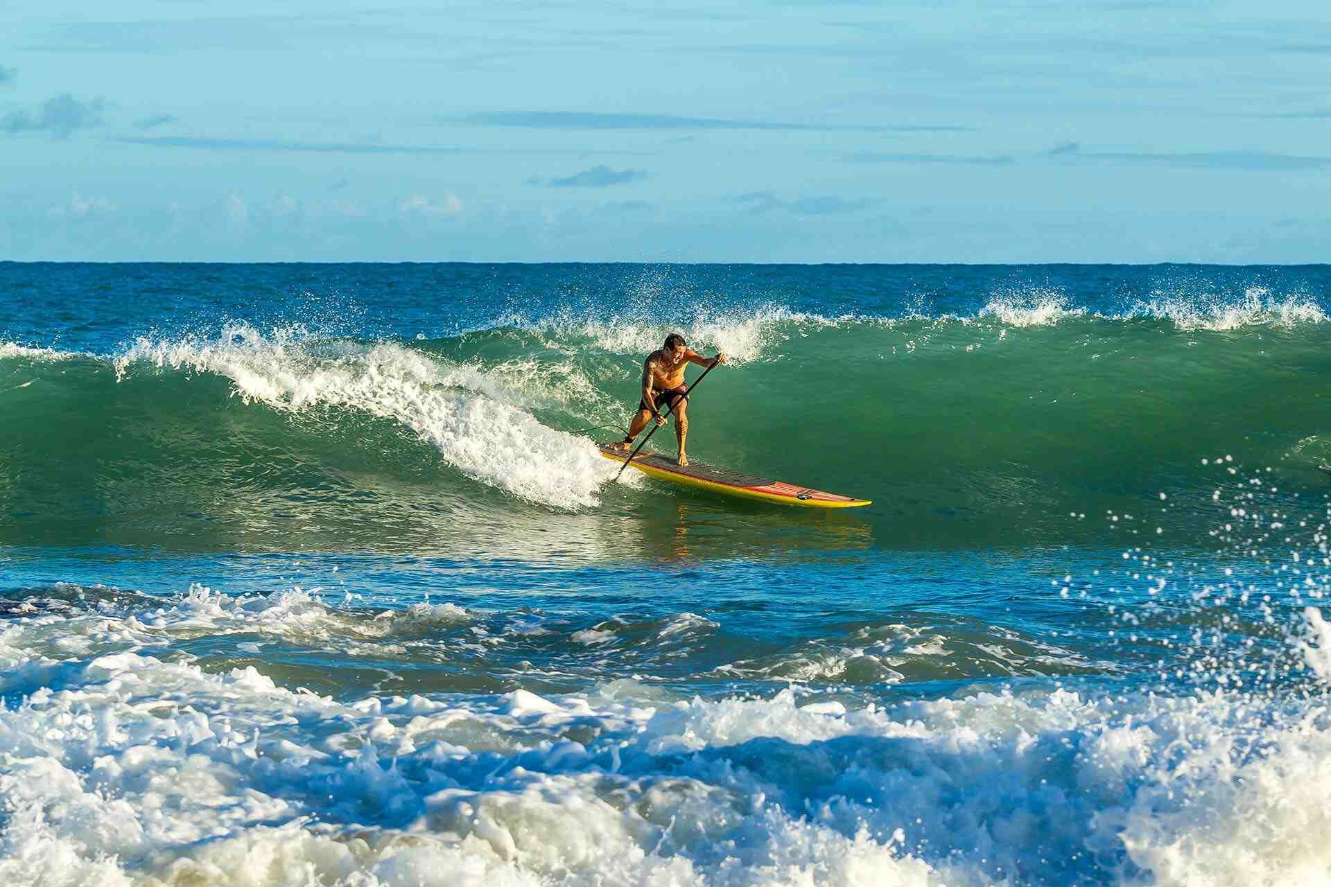 Est-il difficile d'apprendre à faire du surf ?