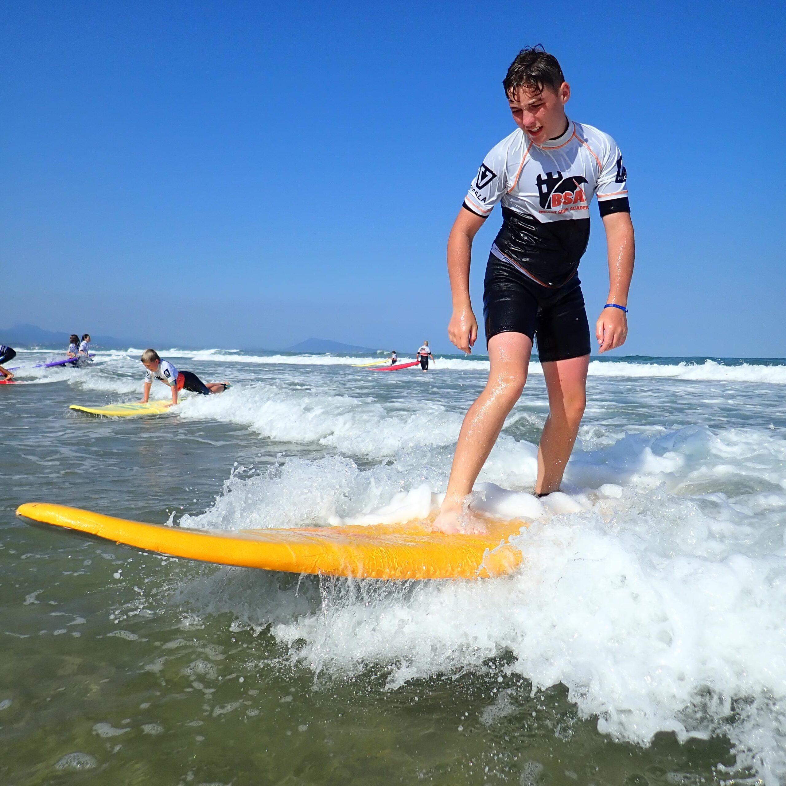 Cours et Stage de Surf Bidart Ilbarritz