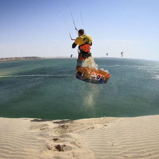 Kite camp Lagon de Dakhla : l'Authentique